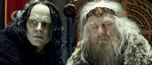 Grima Wormtongue and a CEO, yesterday